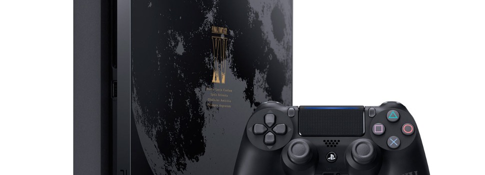 Sony Announces the new PlayStation 4 Final Fantasy XV Luna Edition