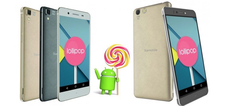 Android Lollipop Update for Starmobile KNIGHT Luxe and UP Neo Now Live