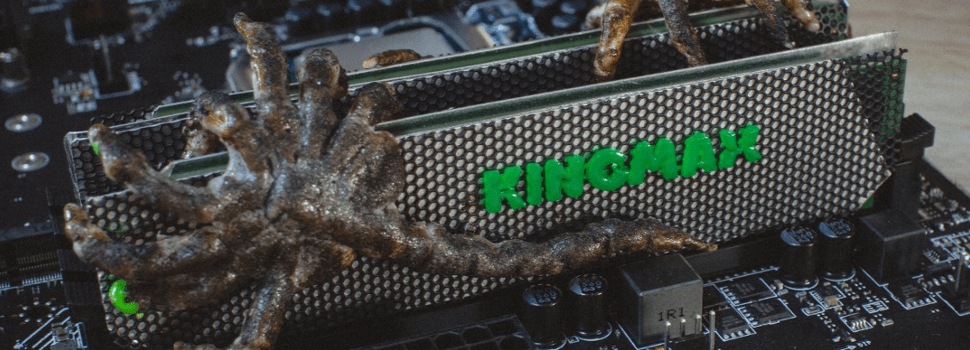 "Check this out: Kingmax DDR4 ""Alien"" Memory Kit Mod"