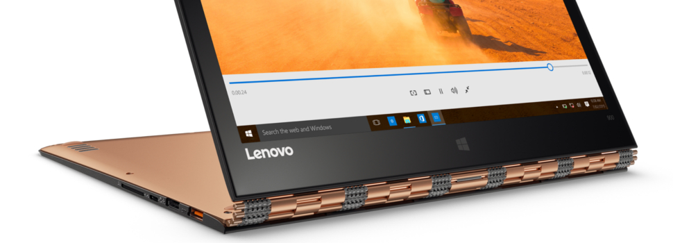 "Lenovo Releases New Yoga 900 convertible, featuring a 13.3"" QHD+ Display"