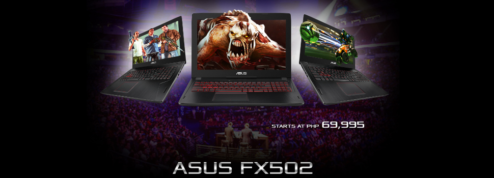 ASUS releases its new affordable 15-inch gaming laptop, the FX502
