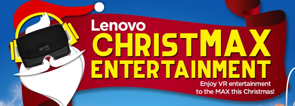 Lenovo Holiday Promos; features Discounts and Freebies for Holiday Shoppers