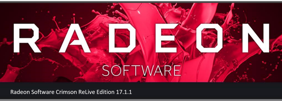 AMD releases Radeon Software Crimson ReLive Edition 17.4.4