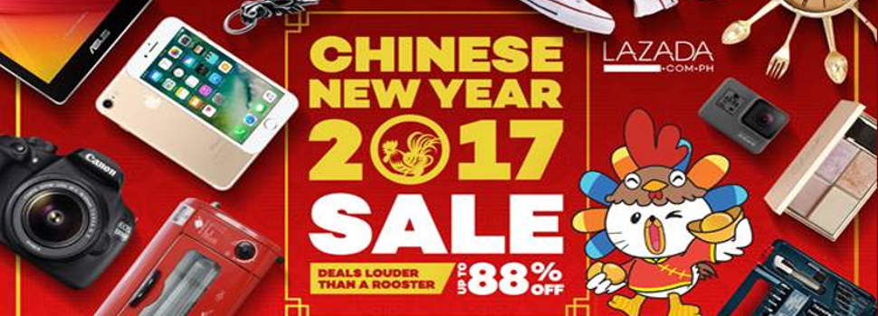 Lazada is celebrating the Chinese New Year with a flash sale