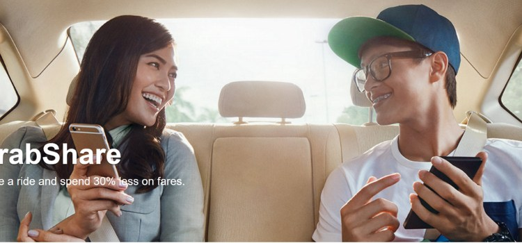 Grab launches its on-demand ride-sharing service, GrabShare to Manila