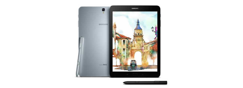 MWC 2017 | Samsung announces the Galaxy Tab S3, and Galaxy Book line