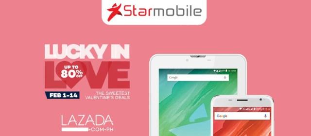 Starmobile offers Valentine's season sale at Lazada