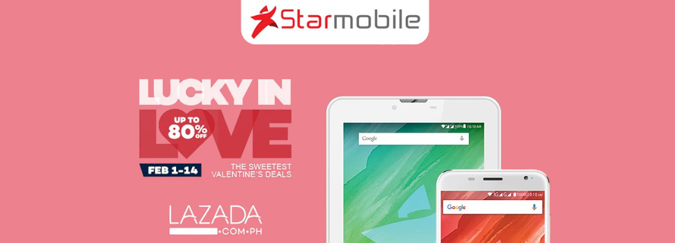 Starmobile offers Valentine's season sale at Lazada