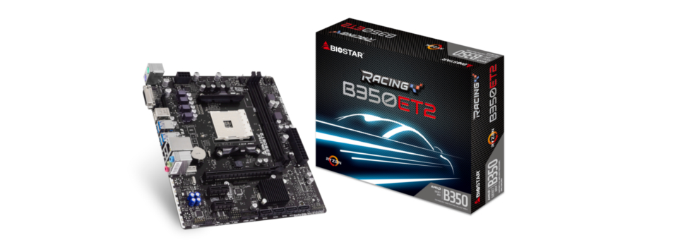 Enjoy the Performance of RYZEN with Affordable BIOSTAR RACING Micro-ATX Motherboards