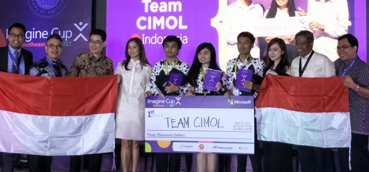 Indonesian students win the 2017 Microsoft Imagine Cup SEA Regional Finals