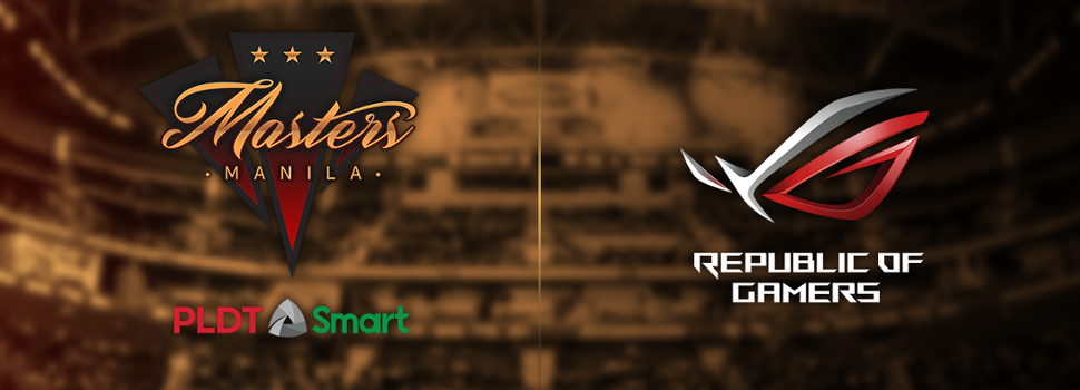 ASUS Republic of Gamers announces partnership with Manila Masters
