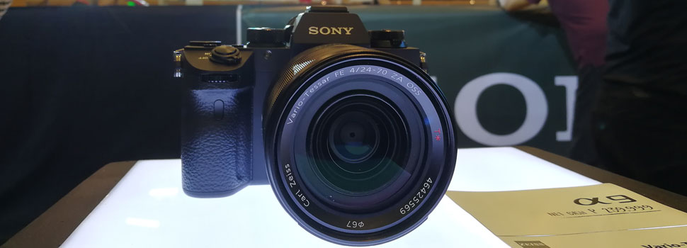 Sony Announces New a9 DSLR Camera