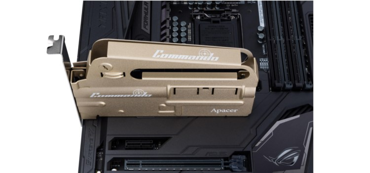 Apacer launches the PT920 COMMANDO Gaming SSD