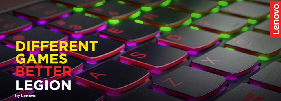 Lenovo recruits gamers and fans to be part of a new and exclusive gaming community: Gamers Legion