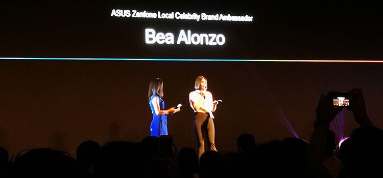 Bea Alonzo Is The New Face Of ASUS Zenfone 4