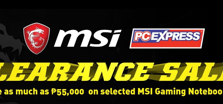 MSI Announces PC Express Gilmore Exclusive Clearance Sale