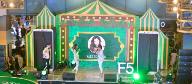 OPPO celebrates sale of the F5 with a roadshow at SM North EDSA and SM Megamall