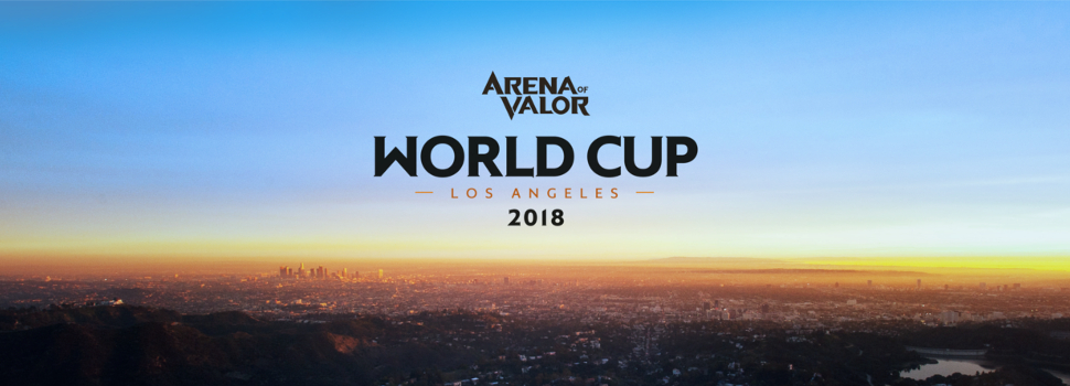 Garena's Arena of Valor 2018 World Cup Takes the Battle to L.A. this July