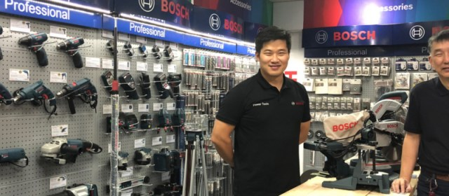 Bosch Power Tools Opens Country-First One-Stop Shop