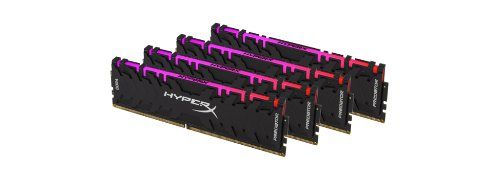 HyperX Announces Predator DDR4 RGB with Infrared Sync Technology