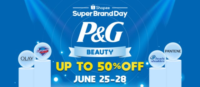 """Shopee Partners with P&G to Launch Debut """"Super Brand Day"""""""