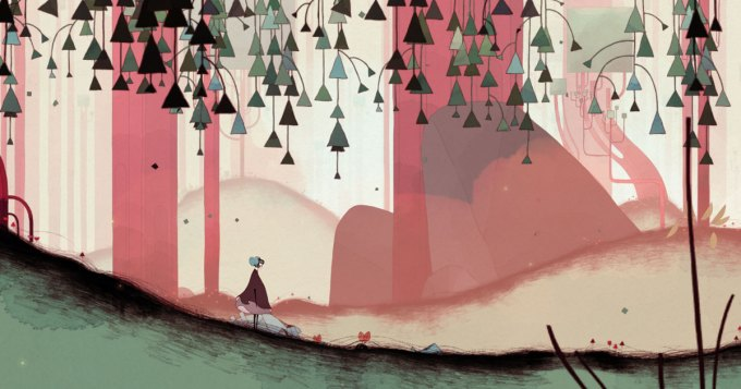 Screenshot from Gris by Nomada Studio