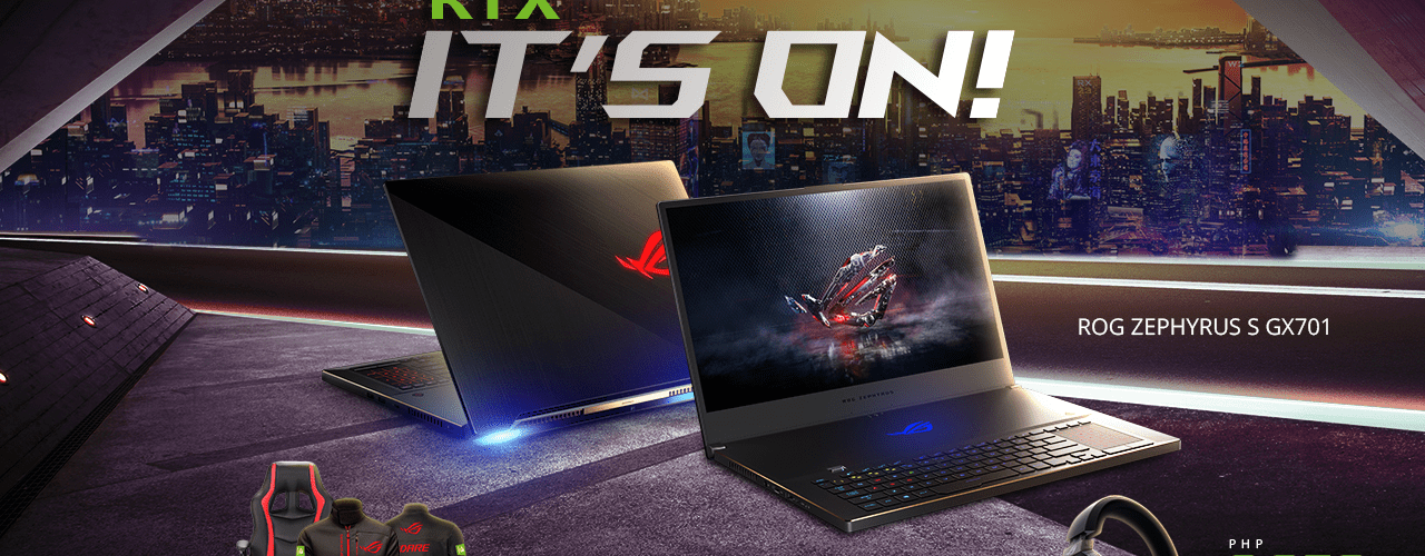 ASUS Republic of Gamers Welcomes the Summer Season with the RTX IT'S ON Promotion