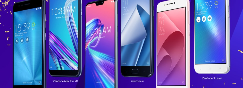 ZenFone and ZenPower Price Drops for Lazada's 7th Birthday Sale!
