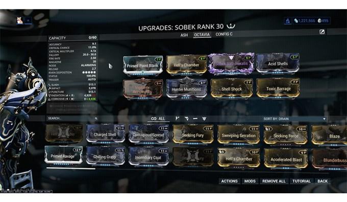 Octavia Warframe Weapon Builds