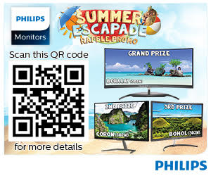 Philips Monitors Summer Promo