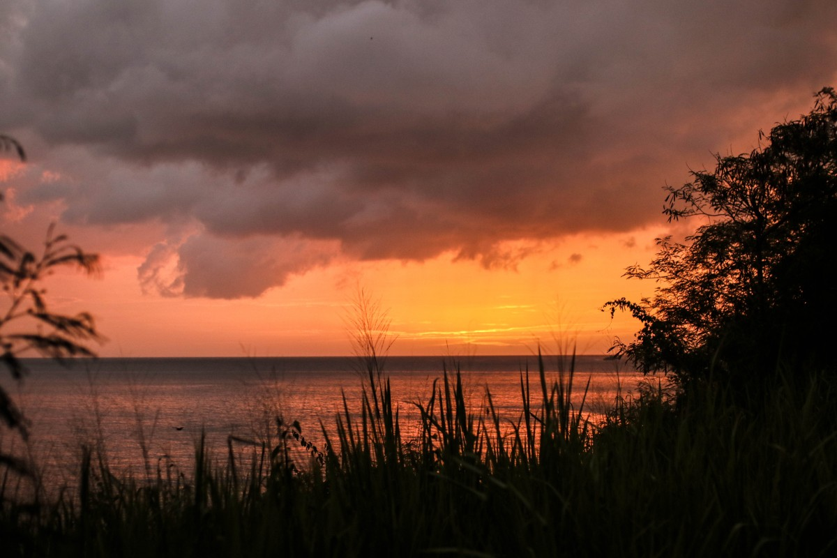 Sunset St Lucia