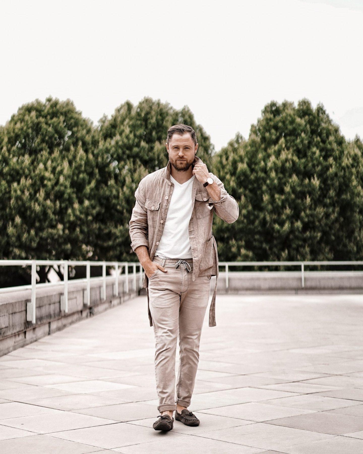 Mango Man Safari Jacket, Diesel Trousers, Menswear Style Fashion AW19 Lookbook