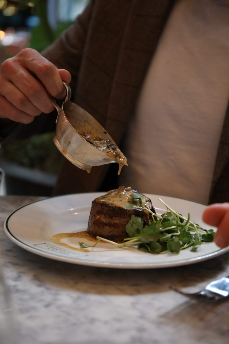 Where to Eat at Liverpool Street   Lunch at The Ivy City Garden