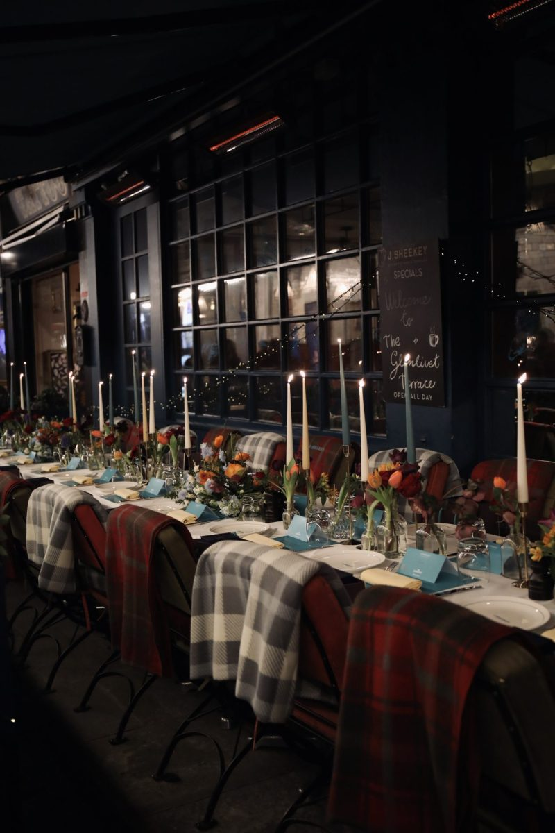 The J Sheekey X The Glenlivet Winter Terrace | Outside Dining In The West End