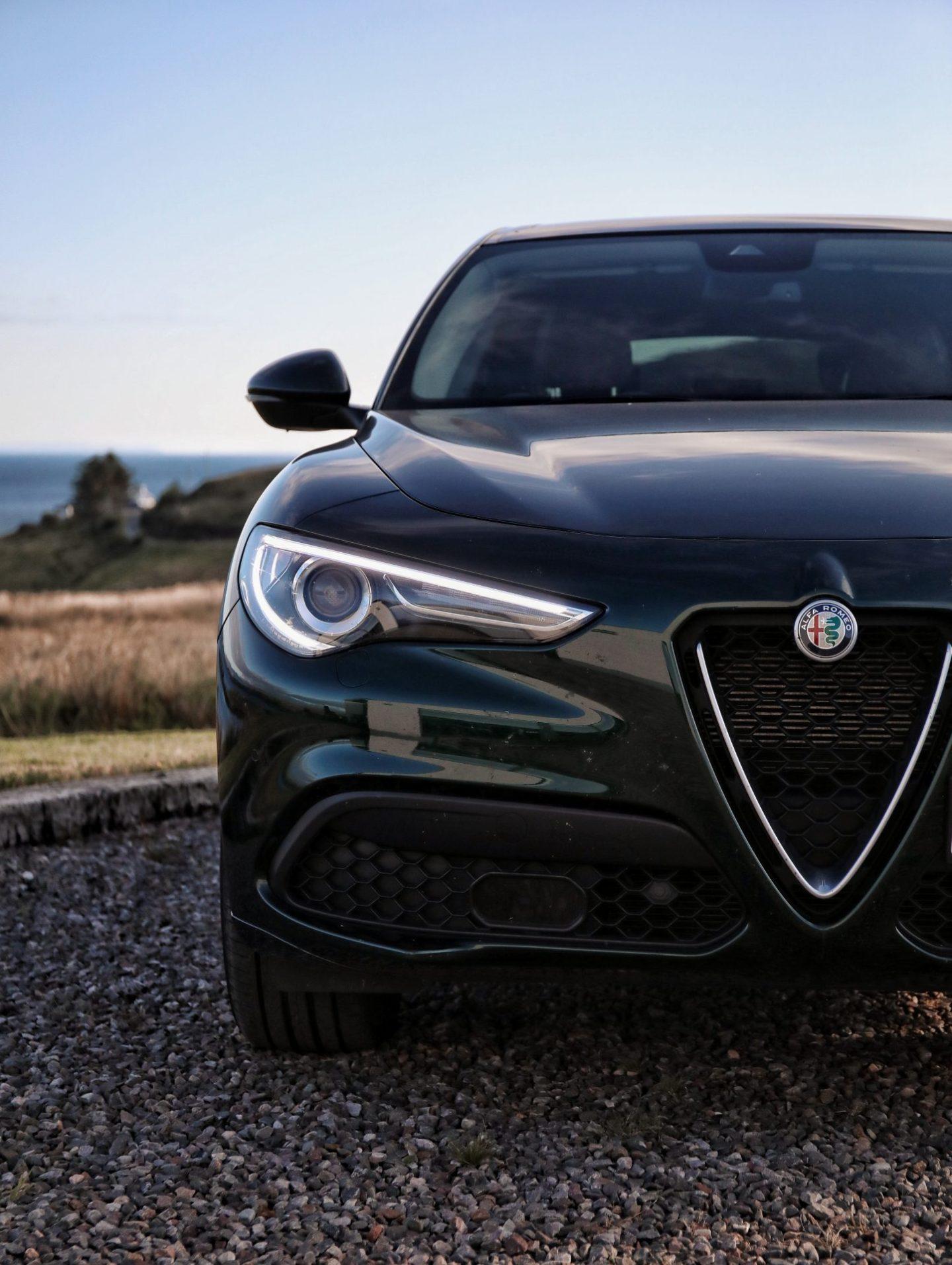 Alfa Romeo Stelvio Review Car SUV Family Car Exterior