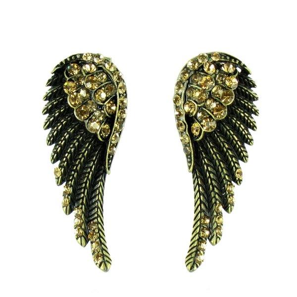 Angel Wing Stud Earrings Colours