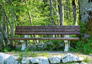 how to make friends - bench