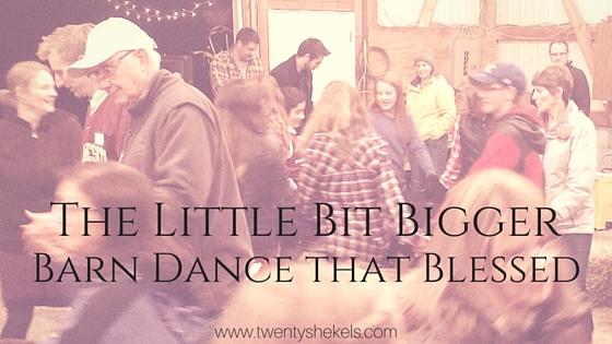 theLittle Bit BiggerBarn Dance (5)