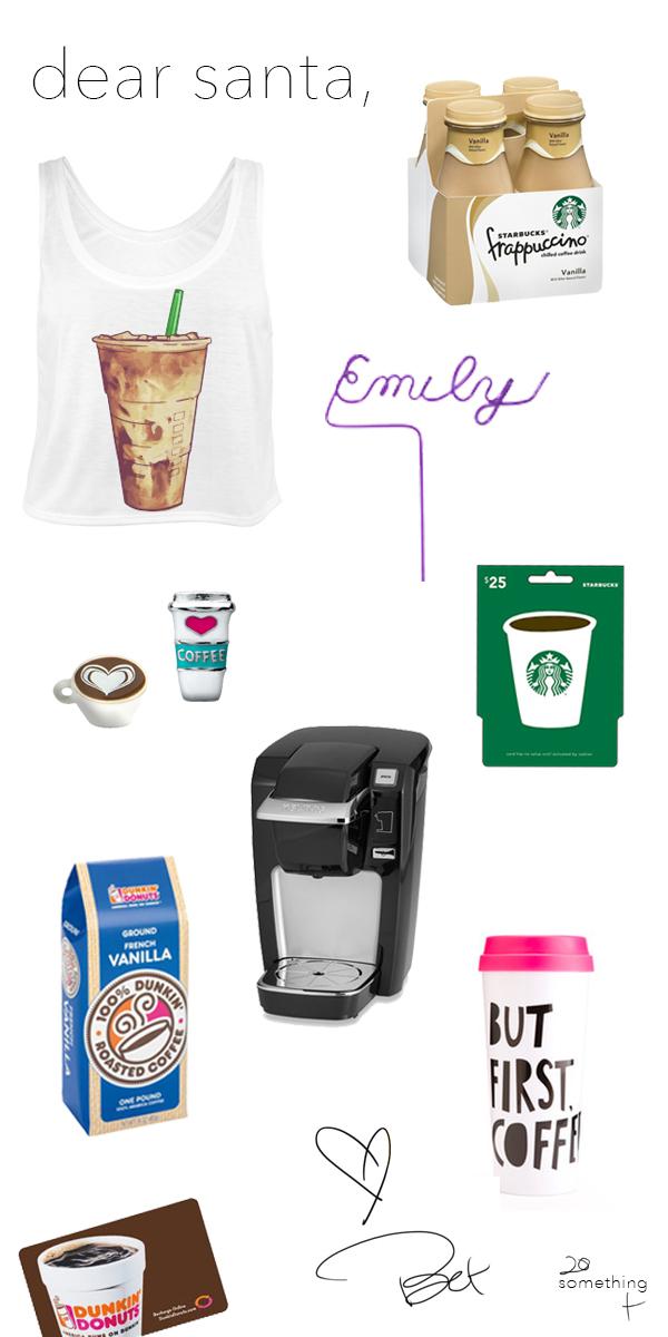 Coffee Lovers Wish List