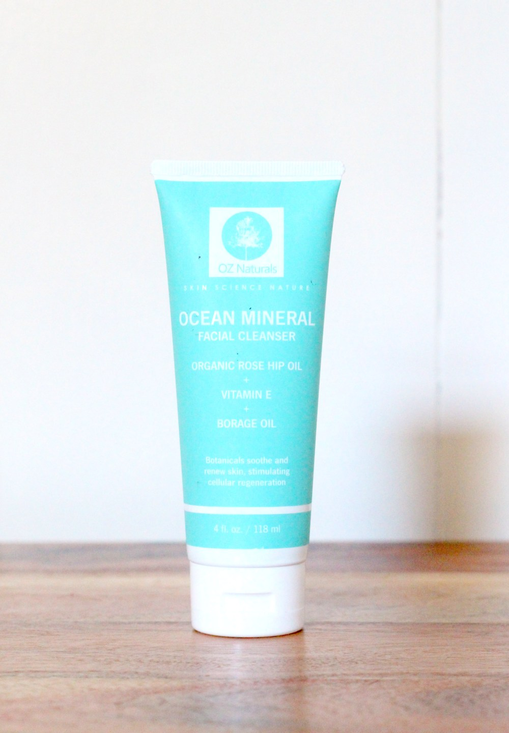 Oz Natural Ocean Mineral Facial Cleanser