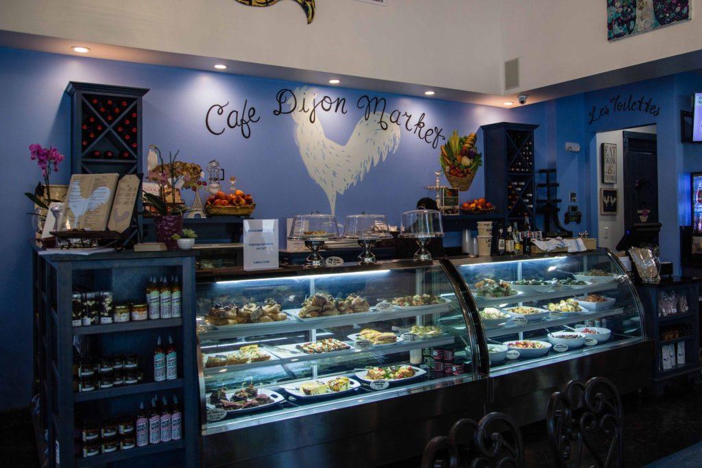 Cafe Dijon Interior