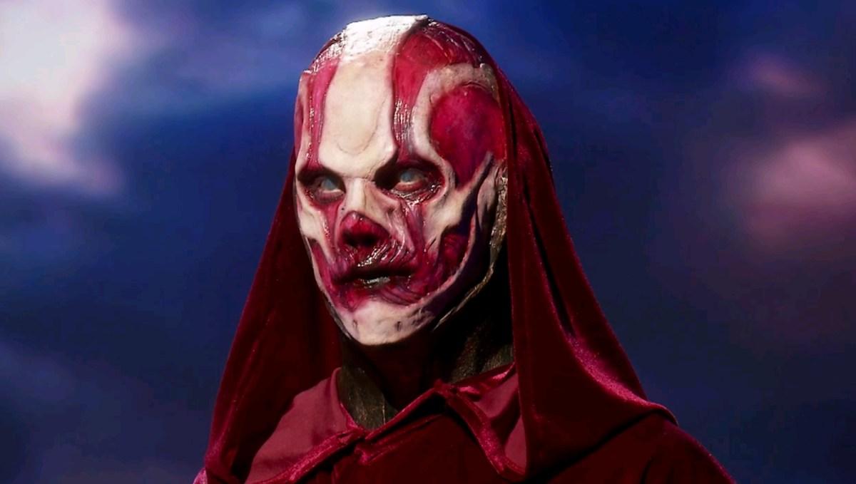Evan Hedges' death makeup