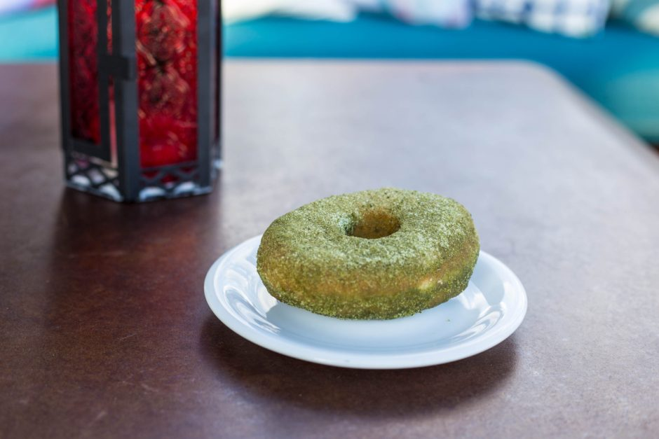 The Ginger Snap, Matcha Donut