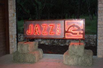 JazzTX neon sign
