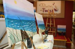 Painting With A Twist finished