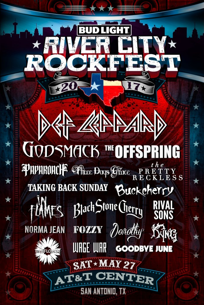 River City Rockfest Lineup
