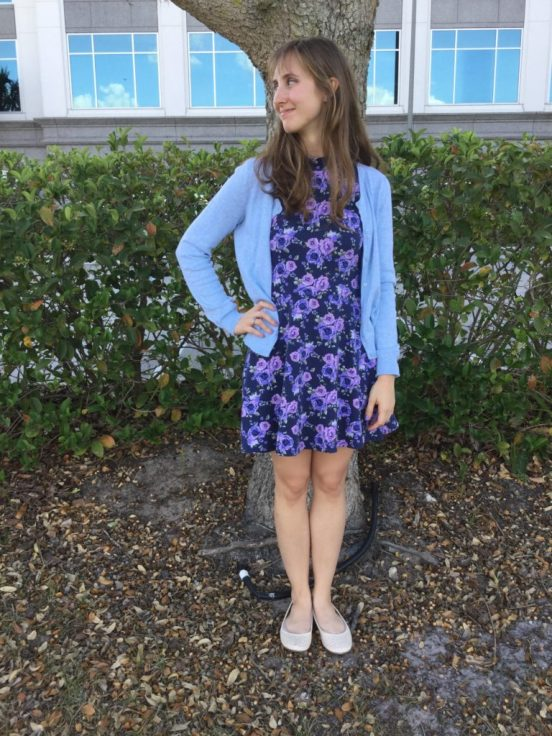 Twentysomething Vision Spring Into Floral Fashion Look 3 Forever 21 Flower Dress