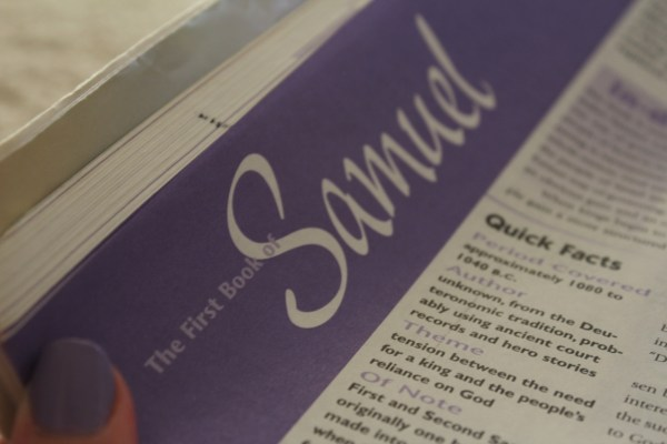 Book of Samuel, Reading the Entire Bible