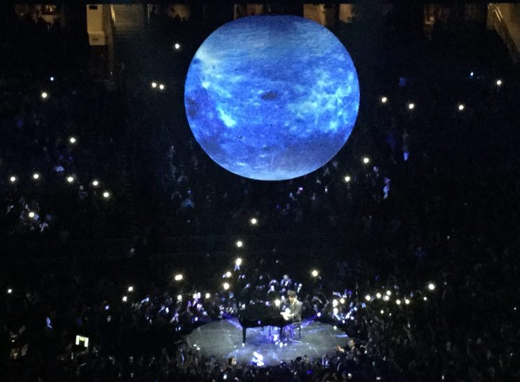 Shawn Mendes Concert Piano