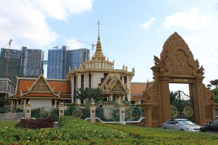 Cambodia Religious Temple